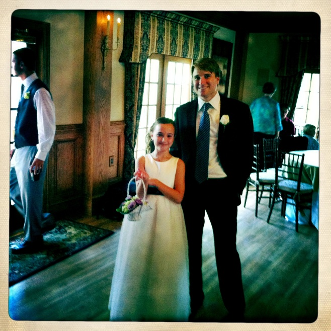Groom & Flower Girl