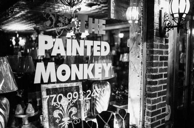 Painted Monkey #2