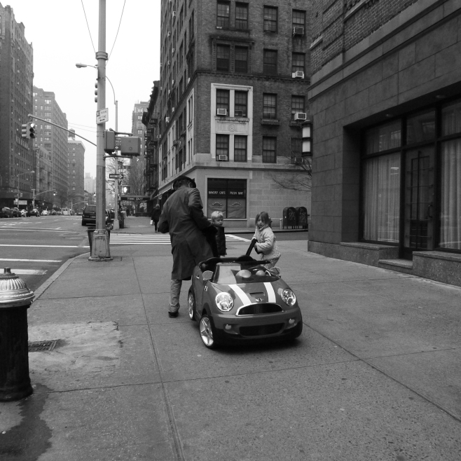 Towing the Mini Cooper