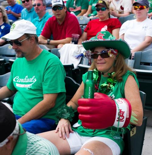 St. Paddy's Day Baseball